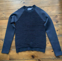 Topman Jumper Ages 12 - 13 Years Navy Blue Crew Neck Long Sleeve Sweater