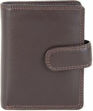VISCONTI WOMENS SMALL SOFT LEATHER ZIP AROUND PURSE WALLET IN 4 COLOURWAYS  HT31