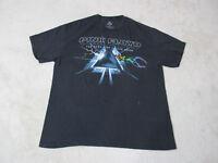 Pink Floyd Dark Side Of The Moon Concert Shirt Adult Extra Large Black Blue *