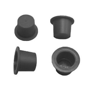 50 x DINITROL 8mm BLACK TAPERED PLASTIC BLANKING PLUG RUST PROOFING