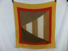 ETIENNE AIGNER Vintage Tuch - graphisches Muster - ca. 80 x 80 cm - TOP