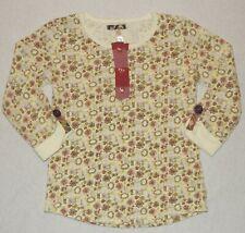 Matilda Jane you & me light bright tee size 6 HCB pink orange yellow flowers