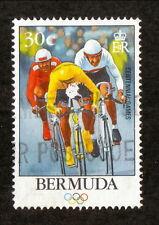Bermuda--#710 Used--1996 Olympic Cycling