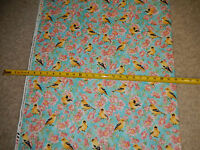American Goldfinch Finches Bird Birds Rose Roses  Timeless C-3488 cotton fabric