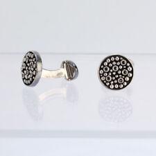 Links Of London Sterling Silver Beads & Black Gemstone Cufflinks - VR