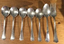 7 Piece Lot Vintage R.C. Co.1923 Manchester Pattern Silverplate Flatware