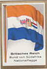 DRAPEAU British Empire britannique Federation South Africa National FLAG CARD 30