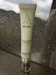 Alpha-H Absolute Eye Complex with Vitamin B5 15ml New Unboxed