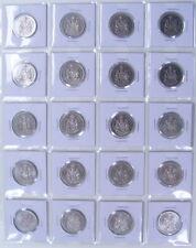 CANADA  NI. 50 CENTS  1968 TO 1987 AU-55 / B.U+ (20PCS)