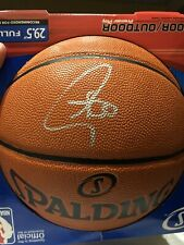 Stephen Curry Signed Autographed NBA I/O Basketball Fanatics Cert. Warriors