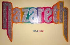 RARE! 70's NAZARETH band Heavy metal hard rock hair dog vTg t-shirt iron-on NOS