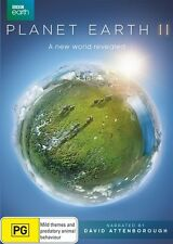 Planet Earth 2 II (David Attenborough) : NEW DVD