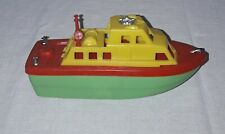 VINTAGE PLASTIC TOY FIRE BOAT