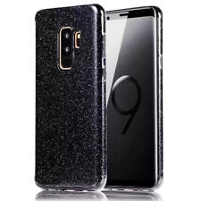 3D Glitter Leather Case For Samsung Galaxy S9 S8 Plus Shockproof Women Cover Bag