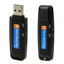 Mini 8GB USB Flash Drive Pen U Disk Digital SPY Audio Voice Recorder Dictaphone