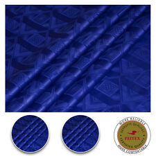 New Design Africa Cotton Fabric For Dress Royal Blue Sewing Material Bazin Riche