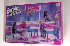 Mattel 1995 Barbie So Much To Do Mall Food Court BRAND NEW NEVER OPENED