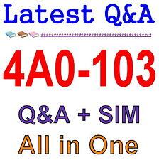 Alcatel-Lucent Multi Protocol Label Switching 4A0-103 Exam Q&A PDF+SIM
