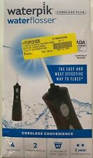 Open Used Waterpik Water Flosser WP-462W Cordless Plus  WITH TIPS & Charger