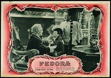 FEDORA Luisa Ferida, Osvaldo Valenti, C. Mastrocinque RARA FOTOBUSTA 1950!