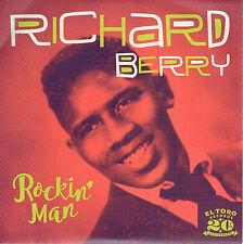 RICHARD BERRY - ROCKIN' MAN  / YAMA YAMA PRETTY MAMA / HAVE LOVE WILL TRAVEL + 2