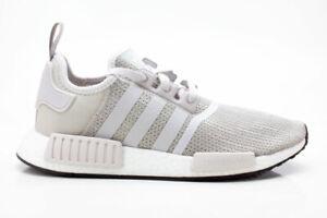 Adidas NMD_R1 Schuhe Unisex Originals Sneaker B76079 grau-weiß