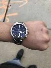 Tag Heuer CJF7110.BA0592 Black Link Watch Mens Calibre S Chronograph