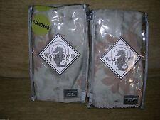 Waterford 2Pc Dianthus Standard Pillow Sham Mineral Nip