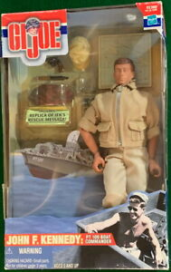 "G.I. Joe 2000 John F. Kennedy PT 109 Boat Commander 12"" Bo Hasbro #81585 New Box"