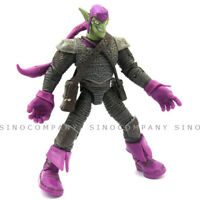 "6"" Marvel Legends GREEN GOBLIN Spider-Man SUPER VILLAIN 2008 collect figure toy"