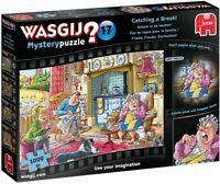 Wasgij 19175 Mystery 17-Catching a Break. 1000 Piece Jigsaw Puzzle