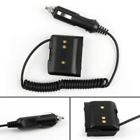 1x Car Charger Battery Eliminator Adapter Fit Yaesu VX-7R VX-6R VX-5R Radio US