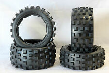 CROSS KNOBBY DIGGER REIFEN HPI BAJA BUGGY 5B SS 5SC FLUX CARBON FIGHTER 3 RÄDER