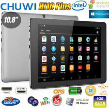 CHUWI Hi10 Plus 10.8'' 4GB/64GB Tablet PC Z8350 Windows10+Android Dual OS 3G PAD
