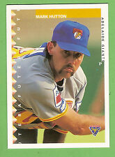 1995 AUSTRALIAN BASEBALL CARD #85  MARK  HUTTON,  ADELAIDE  GIANTS