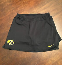 University of Iowa Hawkeyes Women's Team Issued Nike Black Fit Dry Skort Small