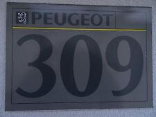 Peugeot 309 1991 Folleto-GTI, estilo, GL, GLX, GRD turbo, GLD, estilo D, auto.