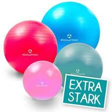 Gymnastikball (antiburst) bis 500kg - 55 / 65 / 75 / 85 cm Sitzball Fitnessball