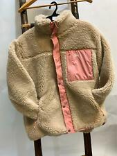 NEW Stussy Stock Puffer Jacket, Natural & Pink , Ladies Size 8