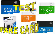 Micro SD Cards Verification test  Is it GENUINE or FAKE! 32GB/64GB /128GB +more