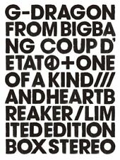 G-DRAGON COUP D'ETAT + ONE OF A KIND & HEARTBREAKER 2CD+DVD+PHOTO BOOK+GOODS