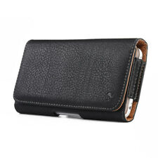Premium Leather Belt Clip Holster Phone Pouch Case Cover for iPhone 11 Pro Max
