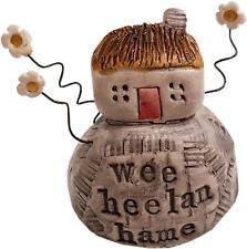 More details for mini sculpture - wee heelan hame by deborah cameron