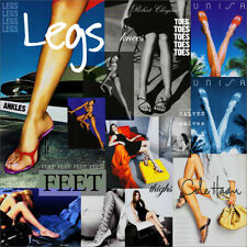 Women's FEET LEGS THIGHS TOES ANKLES Print Ad - YOUR CHOICE! Combined Shipping!