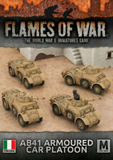 Flames of War Italian AB41 Armoured Car Platoon (IBX16)