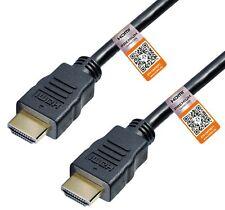 HDMI 2.1 Premium Cable 1m 2.0 Certificado 8K 60Hz UHD 3D Earc Arc HDR10 + Cec 4K