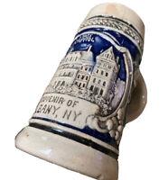 Circa 1910 NY Souvenir Stein Mug State Capitol Building Albany New York Germany