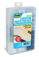 272pc Furniture Protector Pads Assorted Sizes Stick-on Countertops/Floor/chairs