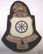 U. S. Army GOLD BULLION UNIT INSIGNIA 250th Support Battalion (RARE - 15 MADE)
