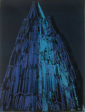 ANDY WARHOL - Koln Cathedral Blue - Offset Lithograph ART PRINT POSTER